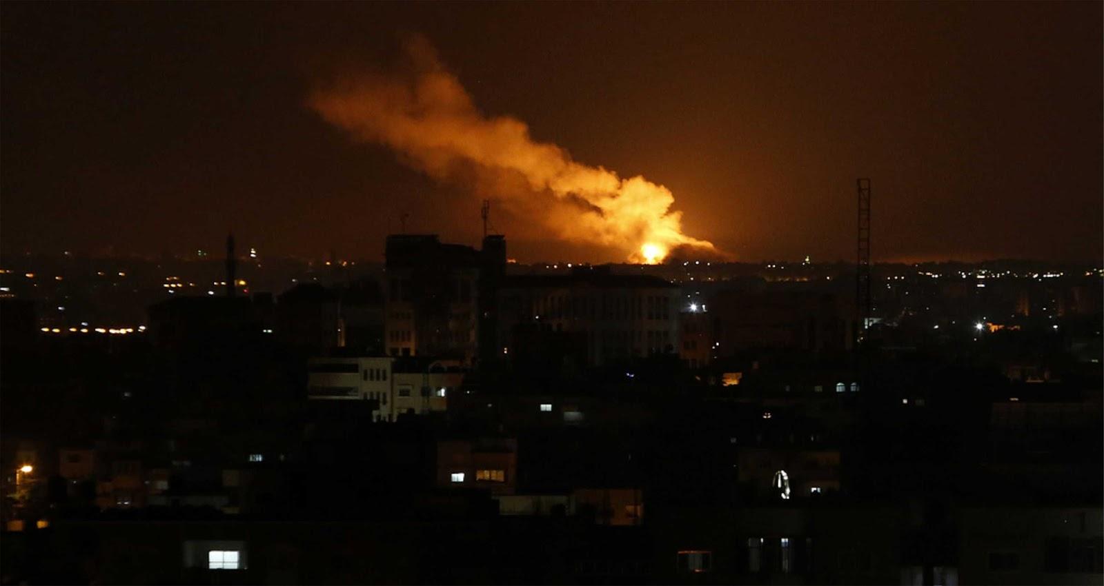 Militer Israel mengklaim bahwa Suriah dan Iran terlibat dalam serangan dari Gaza