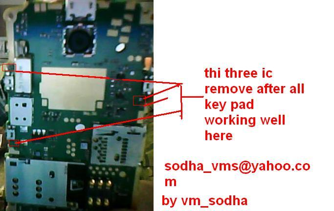Nokia X2-02 Keypad Short Not Working Solution - GSMHosters