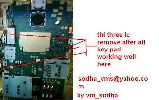 nokia x2-02 keypad not working solution