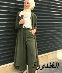 صور ملابس كاجوال، للمحجبات موضة 2021