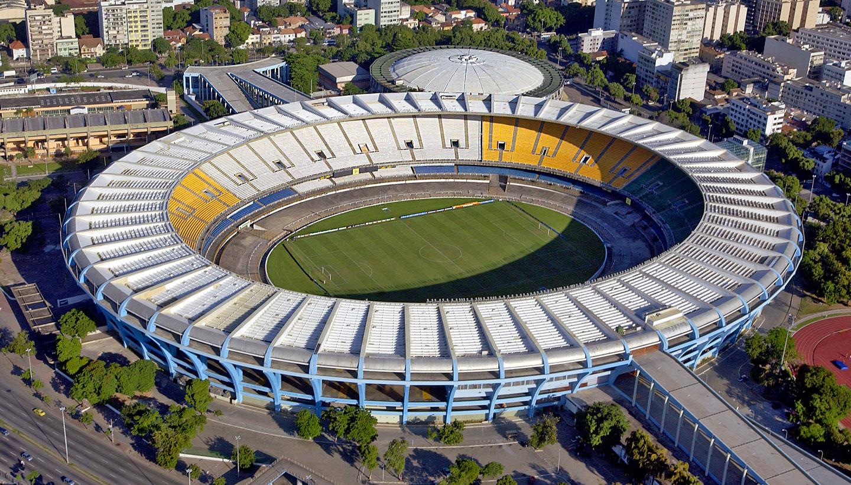 Футбольный стадион Маракана в Рио де Жанейро