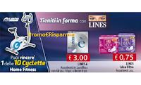 "Concorso ""Tieniti in forma con Lines"" : in palio 10 Atala Home Fitness Ciclocamera"