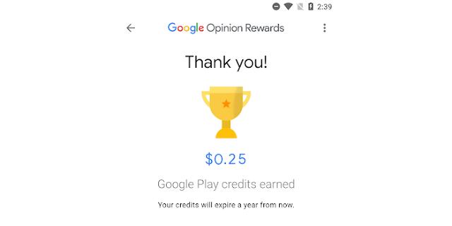 GOOGLE OPINION APP DOWNLOAD करें, ऑनलाइन सर्वे से पैसा कमाएं