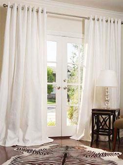 Pamba Boma Choosing The Length Of Curtains And Drapes