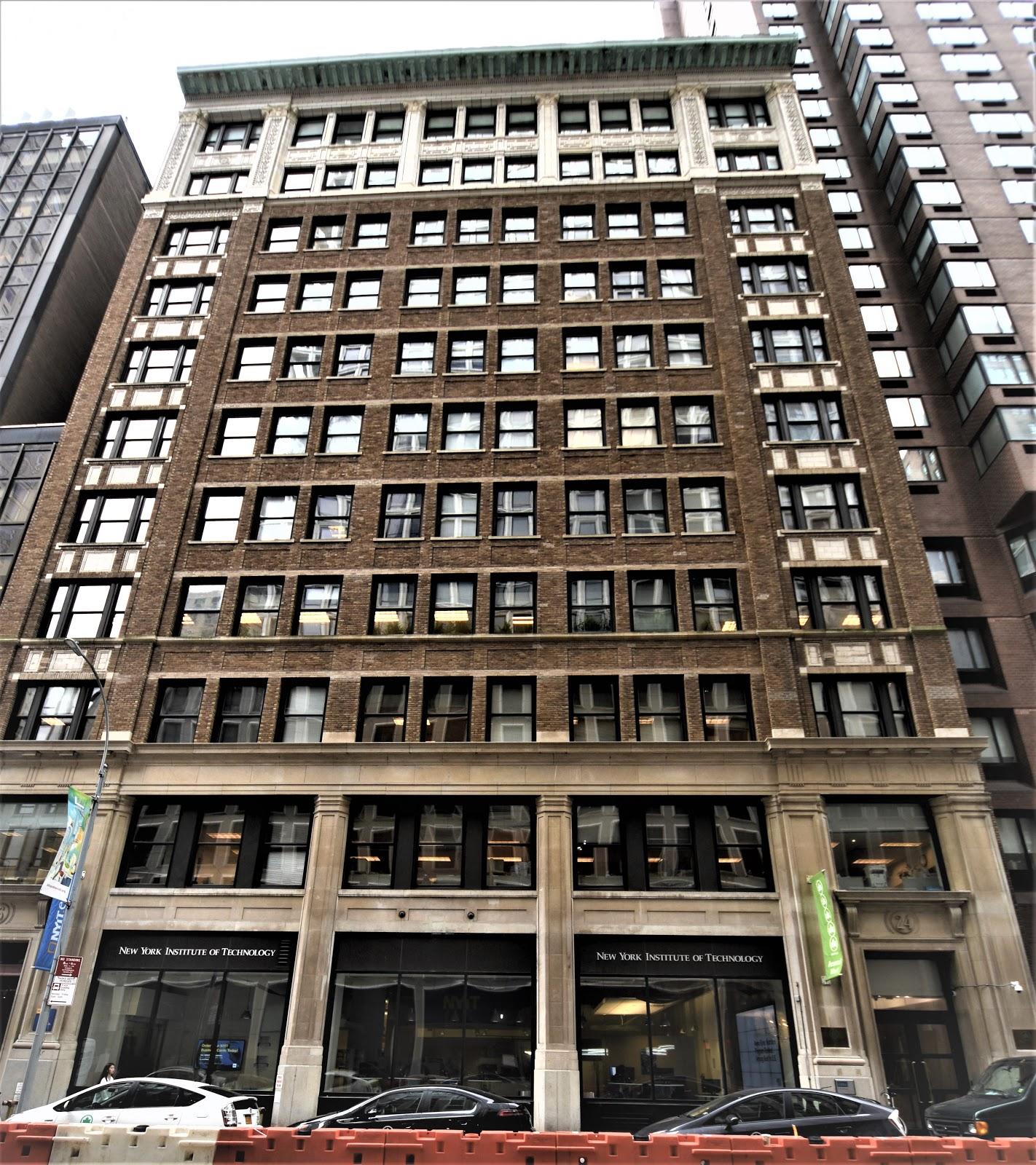 Streets In Manhattan: Daytonian In Manhattan: The Locomobile Company Building