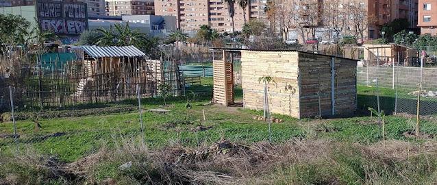 Imagen 10: En Benimaclet sigue las mismas pautas que en otras ciudades y pueblos de la Comunidad Valenciana: Masías, casas y tierras ocupadas, chabolas construidas en solares.