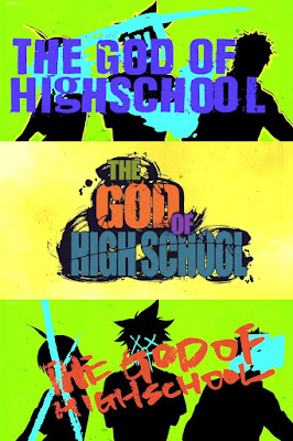 the god of high school anime wallpaper text