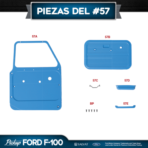 Entrega 57 Ford F-100