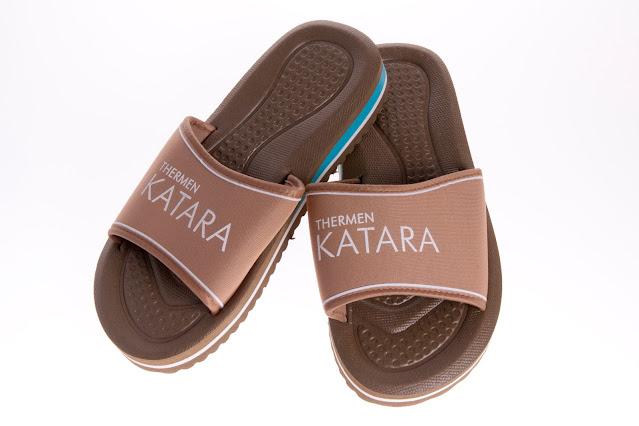 Gepersonaliseerde sauna slippers