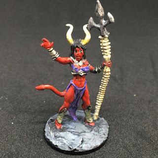 Reaper Bones - Sinessa, Hellborn Sorceress