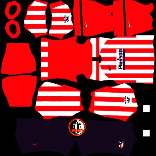 Kits Atletico Madrid - Dream League Soccer 2021