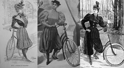 roupas de ciclista vitorianas