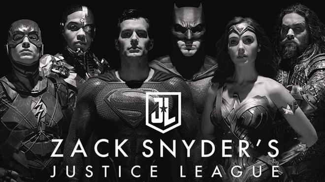 La liga de la justicia de Zack Snyder póster