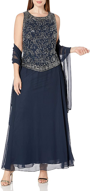 Cheap Navy Blue Mother of The Groom Dresses