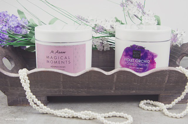 Review - M. Asam - Violet Orchid und Magical Moments Körpercreme