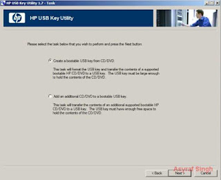 Create a bootable USB key from CD/DVD