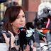 "Cristina Kirchner, tras declarar en Comodoro Py: ""Esta causa es un gran disparate jurídico"""