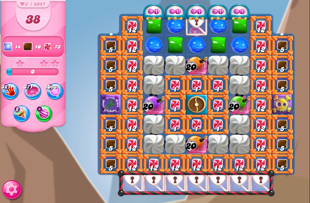 Candy Crush Saga level 8957