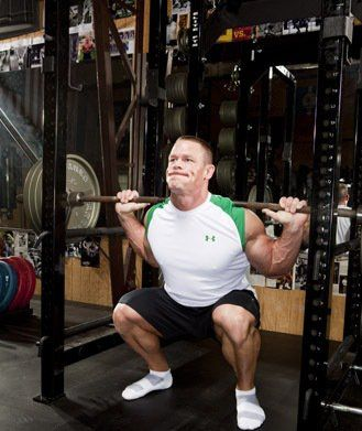john cena back workout