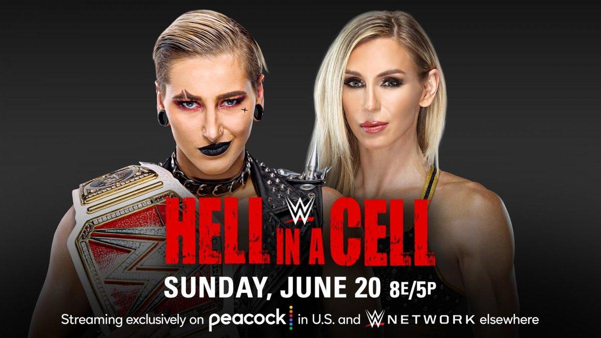 WWE anuncia a primeira luta do Hell in a Cell 2021