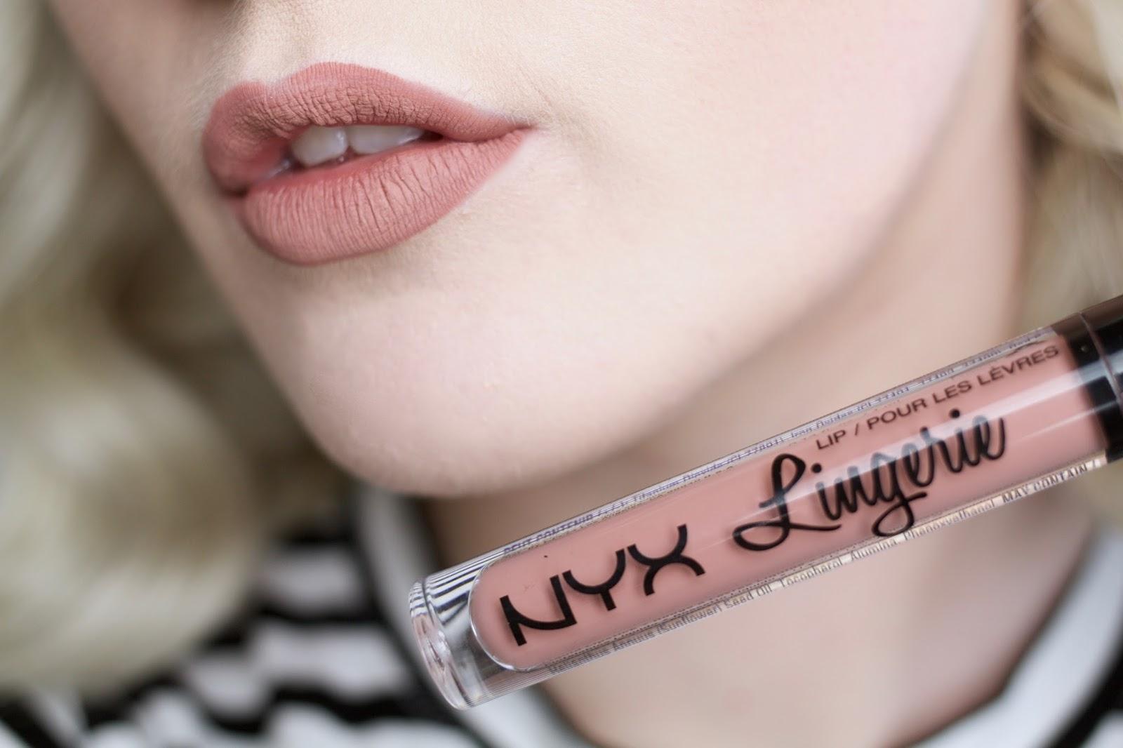 NYX Lingerie Liquid Lipstick Push Up