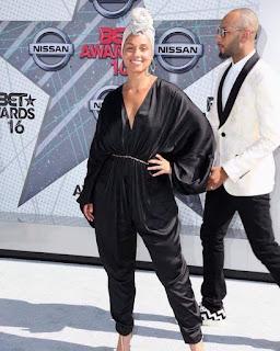AliciaKeys and husband Swizz Beatz at BET Awards 7777