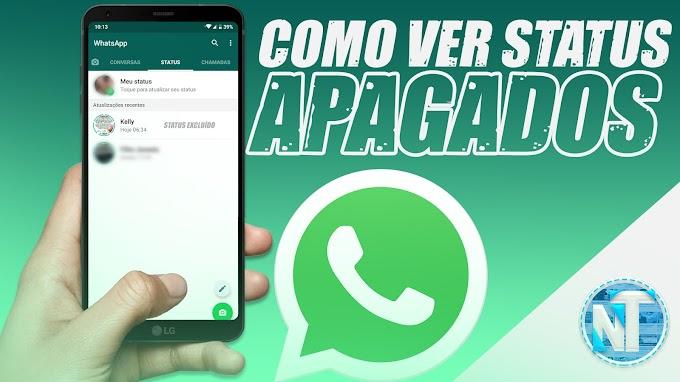Como VER TODOS os STATUS apagados no WhatsApp