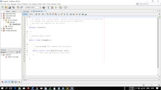 membuat project java pada netbeans (3)