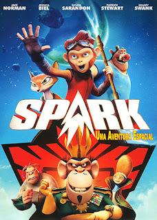 Spark: Uma Aventura Espacial - BDRip Dual Áudio