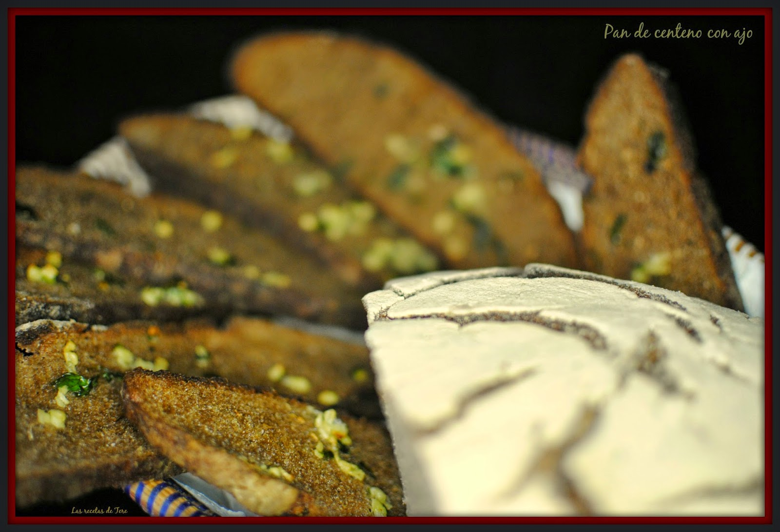 Pan de centeno con ajo tererecetas 03
