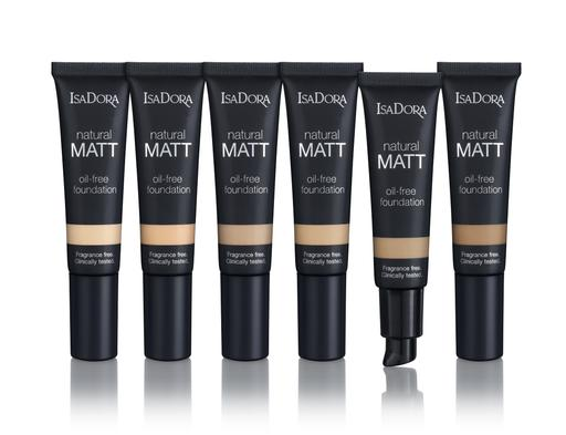 IsaDora Natural Matt Oil Free Foundation