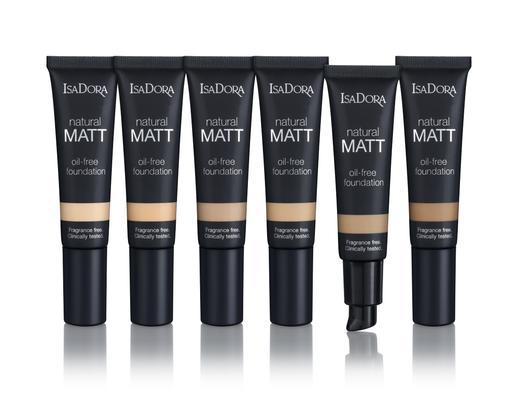 IsaDora Natural Matt Oil Free Foundation