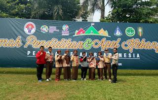 9 Siswa MA Syahida Bandung Barat Ikuti Kemah Kebangsaan di Cibubur