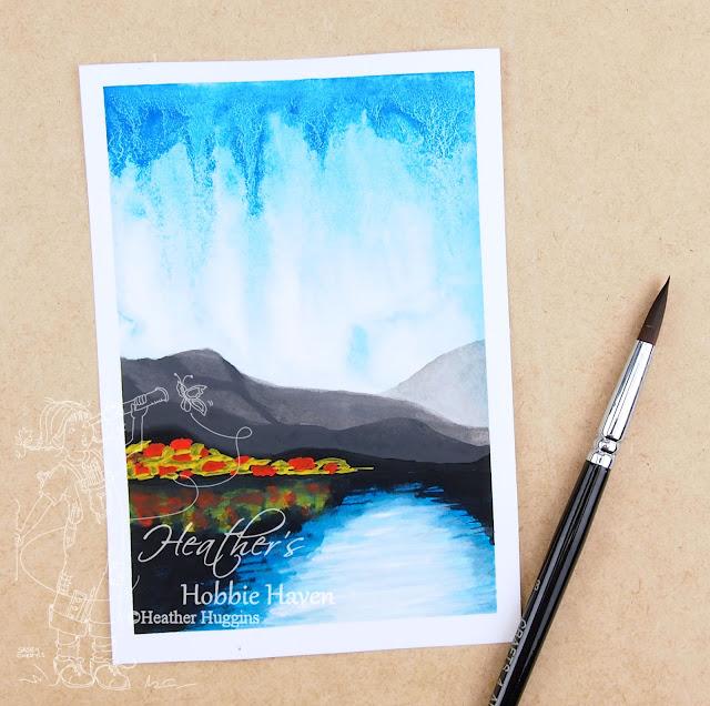 Heather's Hobbie Haven - Gouache Landscape Painting