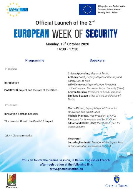 2nd European Week of Security