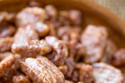 Slow Cooker Candied Cinnamon Pecans