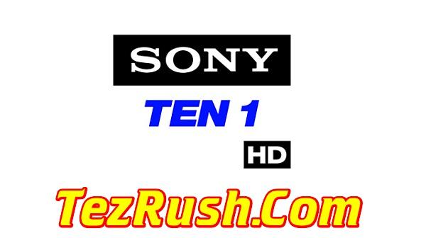 Sony Ten 1 HD TV Channel Official Logo TezRush 2018