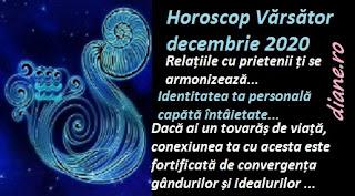 Horoscop Vărsător decembrie 2020
