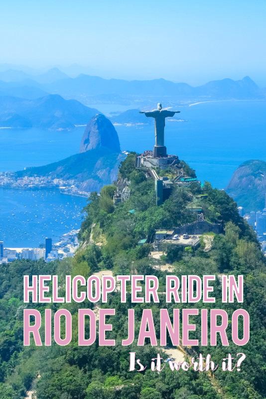 Rio de Janeiro helicopter ride pinterest