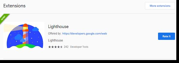 Lighthouse Untuk Menganalisa Website