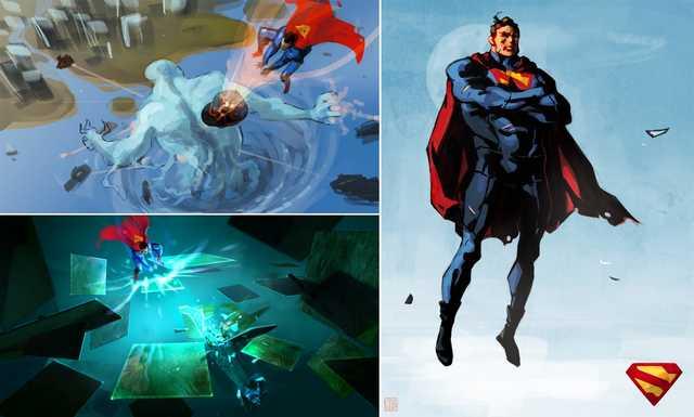 إشاعة : إلغاء عدة مشاريع من سلسلة Superman بنظام عالم مفتوح