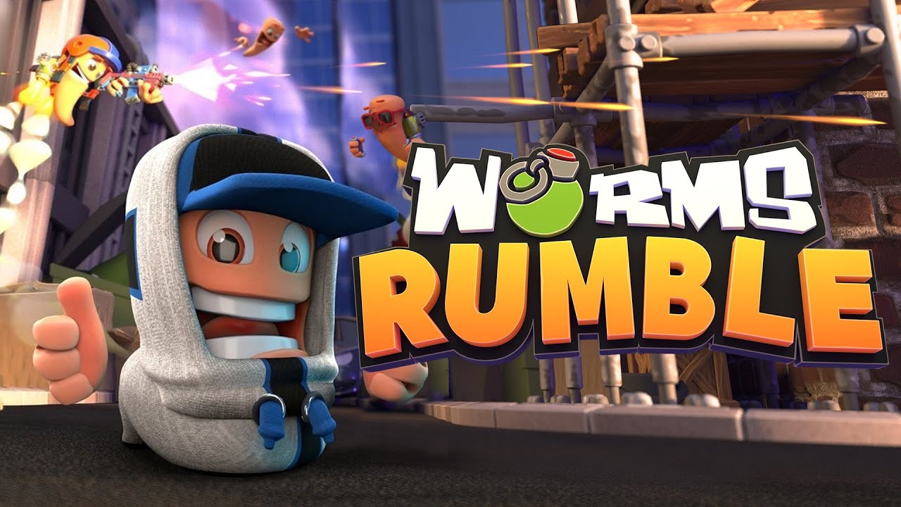 WORMS RUMBLE EXPLODES ONTO PLAYSTATION CONSOLES AND STEAM TODAY