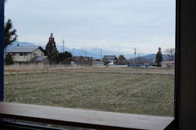 サロンドテフルーヴ 窓からの景色