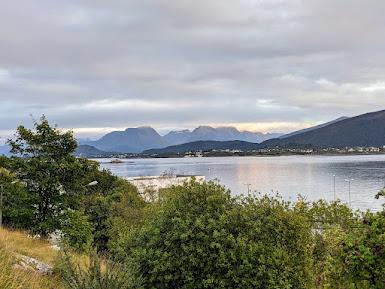 Fjord views from Alesund Norway