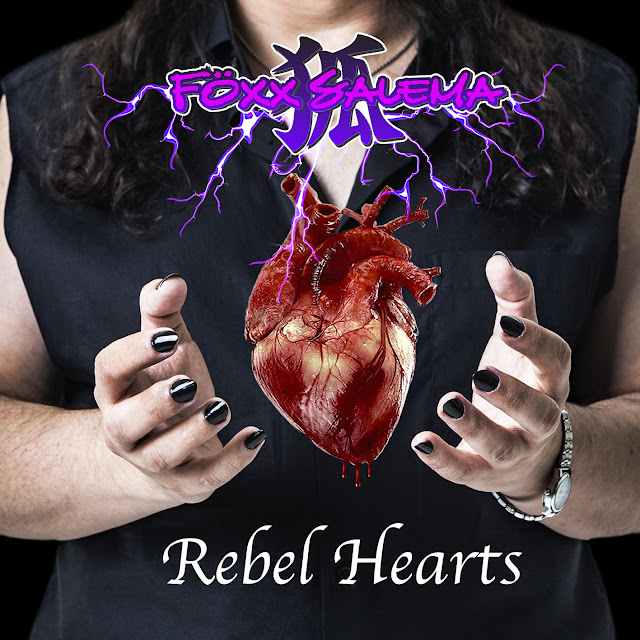 "Föxx Salema - ""Rebel Hearts"" (Bragança Paulista/SP) (Álbum) (Nacional - 2019) (Independente)"