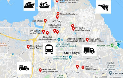 logistics services Surabaya City