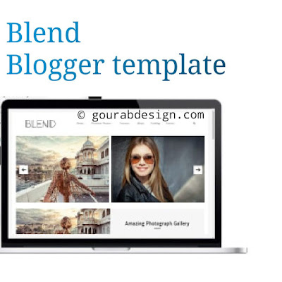 Blend beautiful responsive blogger template