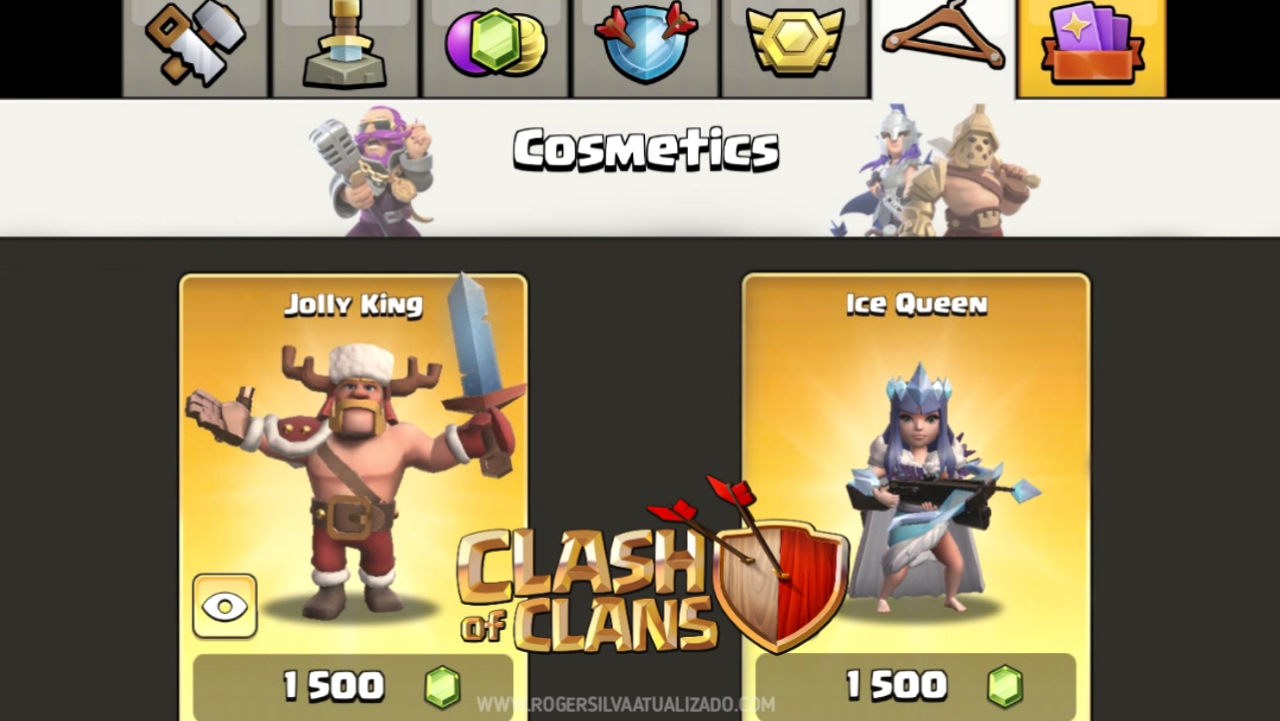 Clãs Clash of Clans mod dinheiro infinito