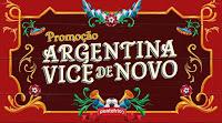 Promoção Argentina Vice de Novo: Copa América e Ponto Frio