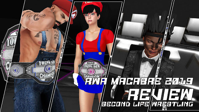 RWA MACABRE 2019 Review • Second Life Wrestling